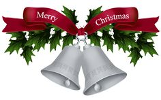 Christmas Silver Bells PNG Picture