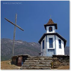 Capela de Santa Quitéria (sec.XVIII) em Catas Altas, Minas Gerais - Brasil.