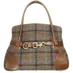 54ecaeaaa5c5 Harris Tweed Shoulder Bag Tartan Clothing