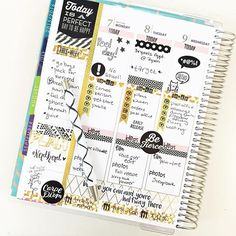 """The first half of this week in my """"brain dump"""" planner... What a mess! This is why I have multiple planners. One to dump everything in and get it out of my head and another to look pretty  #plannerlove #plannerlove #planneraddict #nerdherd #plannerstamps #eclp #erincondren by gretchenhope"""