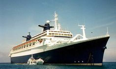 My first cruise in 1996 was onboard the SS Norway.  Today it sits somewhere in storage rusting away.  So sad!  So many wonderful memories!