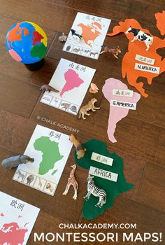 Continents Activities, Geography Activities, Teaching Geography, Toddler Learning Activities, Montessori Toddler, Preschool Lessons, Montessori Activities, Kids Learning, Group Activities