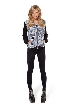 I WANT DIS!! Daily Prophet BF Bomber by Black Milk Clothing $120AUD