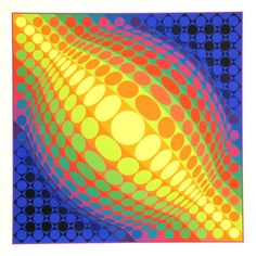Victor Vasarely Serigraph