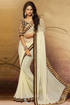 http://www.mangaldeep.co.in/sarees/ravishing-white-chiffon-casual-saree-6595 For more details contact us : +919377222211 (whatsapp available)
