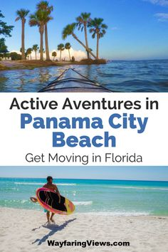 Get these top things to do in Panama City Beach Florida. Have an active beach vacation with activities like hiking, paddle boarding, riding bikes and walking beautiful beaches like Shell Island. Panama City Beach Florida, Panama City Panama, Florida Beaches, Visit Florida, Florida Travel, Travel Usa, Travel Oklahoma, Travel Tips, Travel Destinations