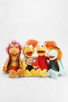 Fraggle Rock Plush Figures - Urban Outfitters <3