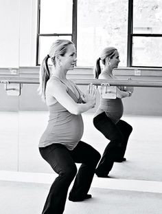 New pregnancy workout to try: The Dailey Method