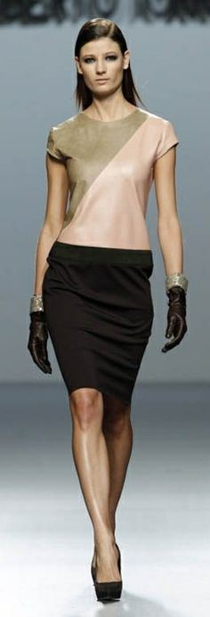 Like this outfit...especially the top.  I like anything that is different that I know no one else will have