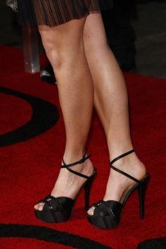 If the shoe fits Nikki Reed shoes fashion celebrity heels black 4873 |Black Heels|