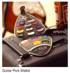 DUDE! If I had one of these, I would never ever lose my picks. unless I lost the whole thing of picks, then I'm screwed....