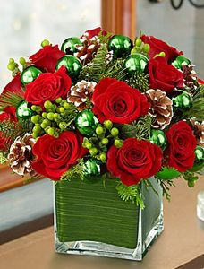 Shop Christmas flowers & gifts for delivery to celebrate the season! Find beautiful Christmas floral arrangements and holiday flowers. Christmas Flower Arrangements, Holiday Centerpieces, Christmas Flowers, Xmas Decorations, Christmas Time, Floral Arrangements, Christmas Wreaths, Christmas Crafts, Christmas Candles