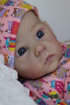 Enchanted Moments Nursery~Reborn Baby Girl~Daylee~Saoirse kit by Bonnie Brown #BonnieBrown