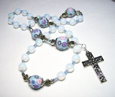 Anglican Protestant Prayer Beads Rosary by SweetchildJewelry, $33.00