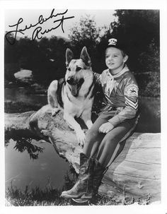 The Adventures of Rin-Tin-Tin.....Rusty and Rin-Tin-Tin. One of my favorite shows from childhood.