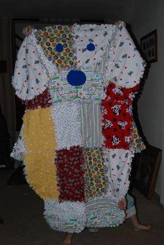 Rag Blanket - dog