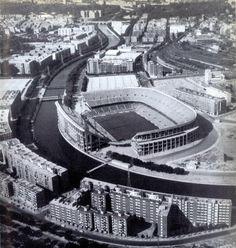 Estadio Vicente Calderón   www.madridantiguo.org www.facebook.com/ciudadyarrabal