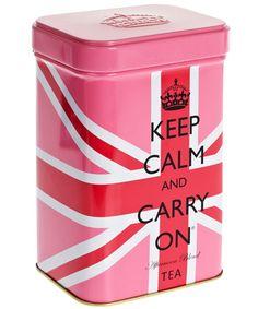 Keep Calm Afternoon Blend Tea Tin