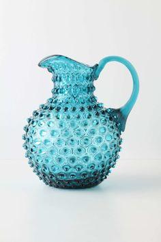 Hobnail Pitcherm, Blue   Anthropologie.eu