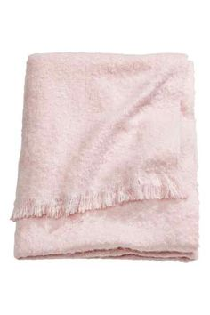 """Blush Pink Throw Blanket Luxe Mink Faux Fur Throw Blanket Color Light Pink Size 84"""" X 58"""