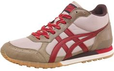 Onitsuka Tiger Mens Colorado Eighty Five MT Trainers Sand/Red £23.99 68% OFF! #FASHION #DEALS #MENSFASHION