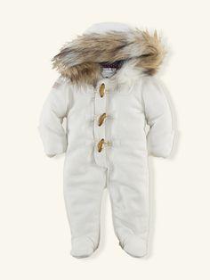 Fleece Toggle Bunting - Sale  Layette Girl (Newborn–9M) - RalphLauren.com