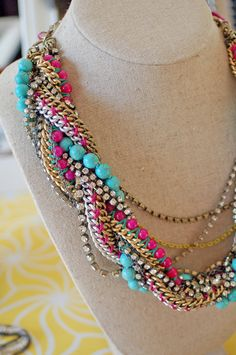 by Stella and Dot....l've wanted this necklace for over a year now!