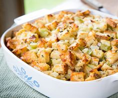 Super-Simple Homemade Stuffing