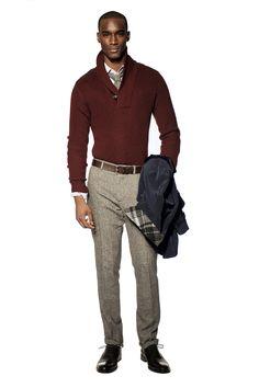 Crimson Heritage Shawl Sweater