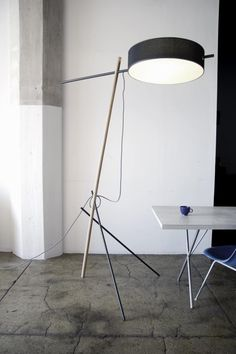 Excel: Floor Lamp, 2008 by the Manhattan, New York based design trio Rich, Brilliant, Willing.