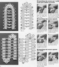 DBrigi munkái: Horgolás kezdőknek Bruges Lace, Crochet, Creative, Blog, How To Make, Diy, Decor, Amigurumi, Handarbeit