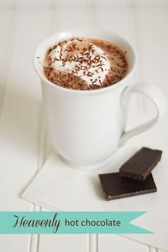all things simple: one simple recipe: heavenly hot chocolate