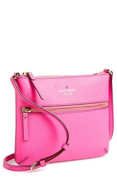 Free shipping and returns on kate spade new york 'cedar street - tenley' crossbody bag at http://Nordstrom.com. A front zip pocket details a slender crossbody bag crafted in lavish Saffiano leather and fitted with an adjustable strap.