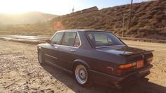 BMW E28 M535i. Petrolicious. Rare Things | http://www.crankandpiston.com/on-the-road/bmw-e28-m535i-petrolicious-rare-things/