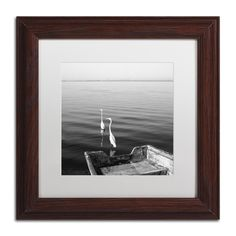 2 Herons Leaving by Moises Levy Framed Photographic Print
