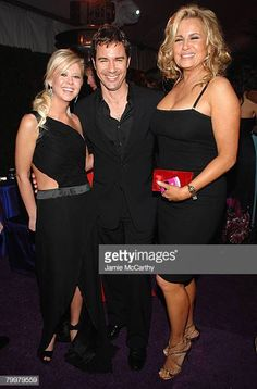 Actresses Tara Reid,Actor Eric McCormack and Jennifer Coolidge attend the Annual Elton John AIDS Foundation Academy Awards viewing party at the Pacific Design Center on February 2008 in West. Jennifer Coolidge, Tara Reid, Elton John Aids Foundation, Star Wars, Ali Larter, Lindsay Lohan, Rachel Mcadams, Sylvester Stallone, Christina Hendricks