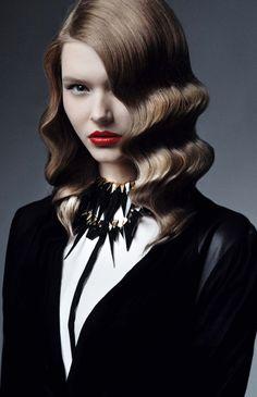 Zara...like the hair color & style.