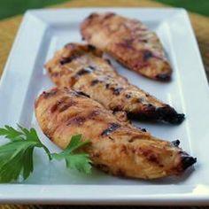 Poitrines de poulet miel et Dijon