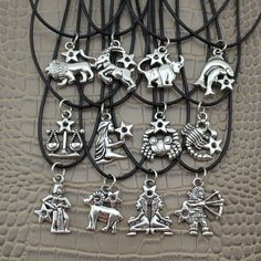 Good News! We now carry this Vintage Silver 12.... We just got them and and they're going fast. http://levelupdeal.com/products/vintage-silver-12-zodiac-signs-pendant-17-short-necklace?utm_campaign=social_autopilot&utm_source=pin&utm_medium=pin