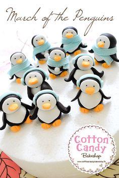 #penguins #cupcakes