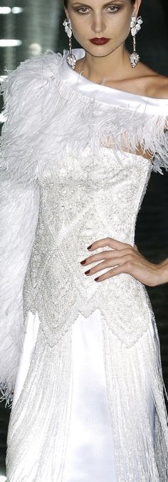 Gorgeous wedding gown by couture designer Valentino. Keywords: wedding dress wedding gown haute couture Valentino #wedding #dress #gown #weddingdress #weddinggown #haute #couture #valentino Follow Us: www.jevelweddingp... www.facebook.com/... plus.google.com/... www.twitter.com/...