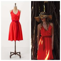 fb9c64650 Anthro  BECCA HALTER DRESS  We love how Girls from Savoy took a classic