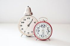 Charm to spare: Vintage soviet mechanical alarm clocks from CuteOldThings.