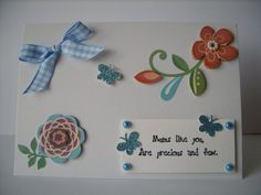 OOAK Mother's Day Card by AuntyJoanCrafts on Etsy, £2.50