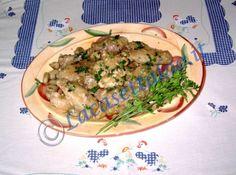 Pollo con topinambur ricetta