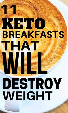 These 11 Easy Low Carb, Keto Breakfasts are the perfect way to start your morning on the right foot! These healthy, gluten free, and easy low carb meals that include pancakes, keto coffee, chaffles, flaxseed muffins, and lots of other fun ideas. You will love these keto breakfasts for your ketogenic diet. These are the best keto friendly breakfasts that will help you lose weight and stay in ketosis. | Olivia Wyles | Keto Lifestyle Guide | Low Carb Recipes Keto Diet For Beginners, Recipes For Beginners, Keto Crockpot Recipes, Low Carb Recipes, Flaxseed Muffins, What Can I Eat, Healthy Recipes For Weight Loss, Keto Meal Plan, Fun Ideas