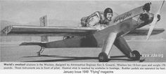WeeBee-15ft wingspan,weight-170lbs, smallest aircraft