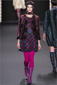 Sfilata Anna Sui New York - Collezioni Autunno Inverno 2013-14 - Vogue