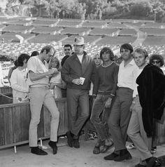 Beach Boys 1965 | The Beach Boys - 1965 at rehearsal - Hollywood Bowl.