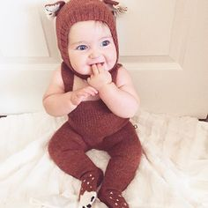 So sweet. ❤️ Thanks @zoeataplay for featuring this little fox.   #Oeuf #OeufNYC #FW15 #Kids babies clothes